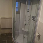 Dusche im neuen Bad
