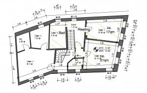 Grundriss der Wohnung Riesling